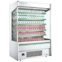 Upright Store Glass Door Refrigerator For Milk Display Danfoss Compressor