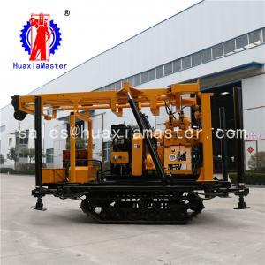 China supply XYD-200 crawler hydraulic drilling rig / hydraulic system high efficiency 200m water well rig in stock on sale