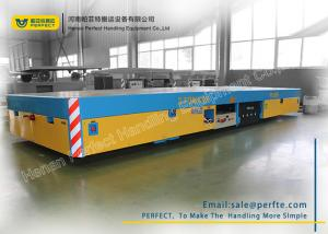 China Trackless Transfer Bogie Electric Trailer Trolley Low Noise Easy Operation on sale