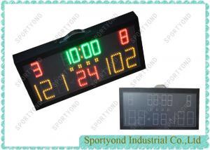China LED Sports Stadium Small Portable Electronic Scoreboard , Mini Score Display Board on sale