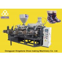 PVC Short Gum boots Injection Machine , Automatic Safety Shoe Making Machine
