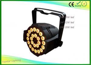 China 24 x 15w Dj Stage Light 5in1 Rgbwa Led Par 64 Dj Lighting 5in1 Par Can Dj Club Event on sale