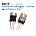 Actionnez le transistor BU941ZB BU941ZT BU941Z BU941 TO-220 NPN de Darlington