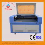 Machine TIE-1390 de coupeur de coupe de laser de 1390 cuirs/tissu