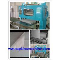 Embossing Laminated Paper Towel Making Machine , Hand Paper Towel Folder Machine