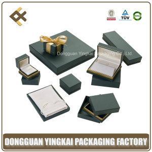 Luxury Gift Paper Plastic JewelleryJewelry Packaging Box for sale