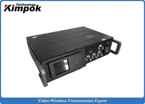 China Vehicle Long Distance COFDM HD Transmitter , UHF HD Video Transmitter And Receiver on sale