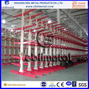 China Metallic Storage Rack Cantilever Racking with Good Quality Multi-levels on sale