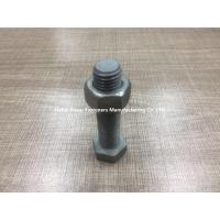 Din 933 Galvanized Bolts And Nuts M12 Size Hot Galvanizing Surface Treatment
