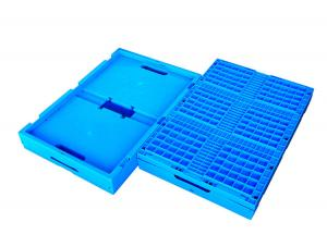 China PP Collapsible Plastic Box Storage Container Ventilated Plastic Crates Stackable on sale