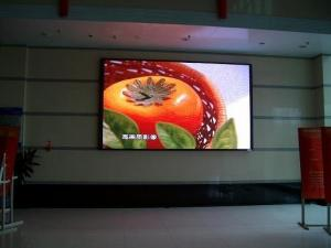 China Multi-media Full Colour P25 Indoor Flexible LED Display Screen 1600 pixels/sqm 45 W/sqm on sale