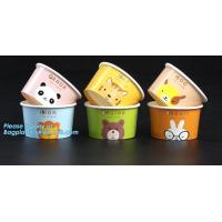 Biodegradable gelato paper cup 7oz,Top Selling disposable paper cups for icecream ,hot sale icecream paper cup bagease