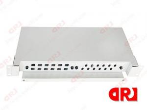 Quality 24 port FTTH drawer style Optical Fiber Fittings patch panels Wall & Rack Mount for sale