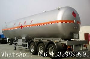 China China famous leading bulk propane gas tank semitrailer for sale, hot sale best price lpg gas tank semitrailer for sale on sale