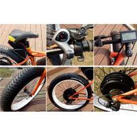 Shimano 7 Speed Electric Fat Bike / Fat Tyre Mountain Bike With 26 X 4.0 Bike Tires