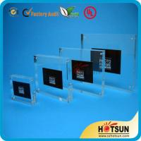 China clear acrylic picture photo frame photo frame 4x6,5x7 wholesale custom acrylic photo frame on sale
