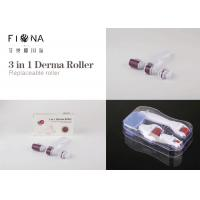 China CE Approval titanium derma rolling Manufacturer skin roller system 3 IN 1 derma roller on sale