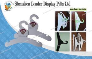 China Custom Cardboard Clothing Hanger Pop Display For Promotion , Lightweight Display on sale