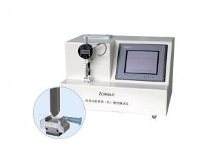 China PLC Medical Needle Tubing Stiffness Tester With 5.7 Inch Color Touch Screen on sale