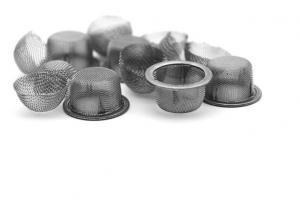 China 20 60 Mesh Dome Shaped Wire Mesh Filter Screen Heat Resistant 0.15mm Wire Dia on sale
