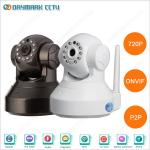 Onvif infrared night vision pan tilt pnp home security cameras