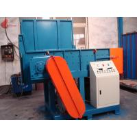 Single shaft And Twin Shaft plastic shredder machine , film recycling machine