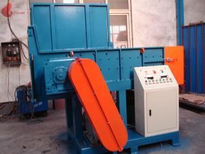 China Single shaft And Twin Shaft plastic shredder machine , film recycling machine on sale