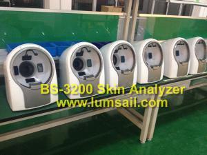 China Best bio digital Skin Scanner Analyzer with CE skin scanner analyzer bio skin analyzer on sale