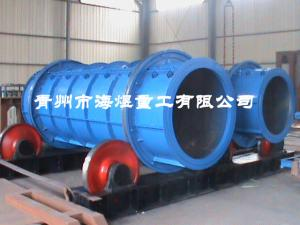 China roller suspension concrete pipe machine on sale