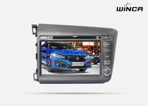 China Morrior Link Honda GPS Navigation 1.2G CPU Honda Civic 2012 Honda Sat Nav on sale