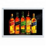 Waterproof Aluminum Profile Slim LED Light Box Sign Snap Frame 18mm Thickness