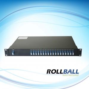 China CWDM 1 *N Mux-Demux Passive Optical Multiplexer With 19inch Rack Mount Box, SMF-28e Fiber on sale