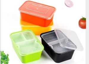 China Eco Friendly Food Grade PP Food Trays With Lining Rectangular Shape on sale