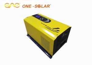 China Single Phase  Sine Wave UPS MPPT Solar Power Inverter Yellow Color Powerful For home on sale