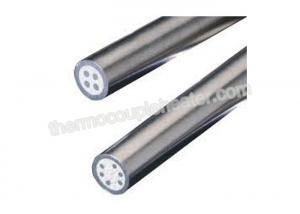 China Glass / Silicon / Ceramic Fibre Insulations Thermocouple Mineral Insulated Cable Type K on sale
