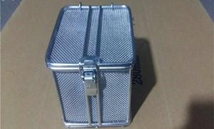 China 304 316 Stainless Wire Mesh Baskets  For Instruments Storage Or Washing SGS Approved on sale