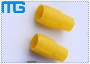 China Insulated Wire End Caps tube l Cable Terminal Lug ,PVC Cable Sleev with avarious yellow on sale