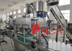 China Volumetric Pesticides Automatic Liquid Bottle Filling Machine for 50ml - 1L on sale