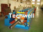 2.0-3.0mm Heavy Duty Upright Racking / Shelf Roll Forming Machine With JH21-80 Ton Press Machine To Punch Holes