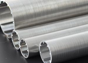 China Taille de fente de filtre pour puits de filtre de grillage d'écran de fil du puits de pétrole V/acier inoxydable on sale