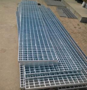 China Pool drainage steel welded grate/channel steel welded grating on sale