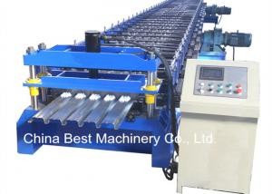 China 688 Floor Deck Roll Forming Machine Floor Tile Material Making Machine on sale