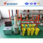 Gloves / Boots High Voltage Test Equipment 3kva Capacity With High Stability