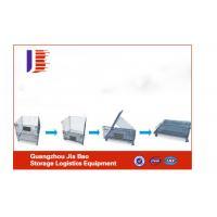 Steel Mesh Storage Cages Warehousing Logistics Equipment For Fruit Storage