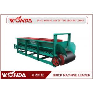 China Clay Belt Box Feeder Solid Brick Making Machine Production Line Application on sale