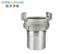 China Rod Type Ring Lock Coupling , Air Hose Connector Agriculture Applied Threaded High Pressure on sale