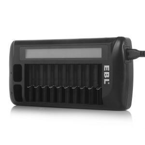 China 12 の湾 LCD の速い充電電池の充電器、NI CD AA AAA 9V の充電器 NI MH on sale
