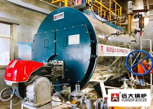 China Fire Tube Diesel Heavy Oil Natural Gas Steam Boiler Q345R Carbon Steel Material on sale