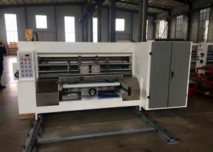 China Corrugated Small Box Automatic Feeder Printing Slotting Machine / TaoBao Carton Packing Machine on sale