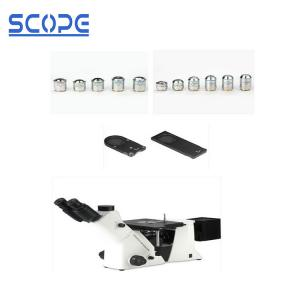 China BDS400 100X dry objectiev Optical Inverted Metallurgical Microscope on sale